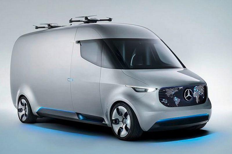 Mercedes Benz Vision Van 01