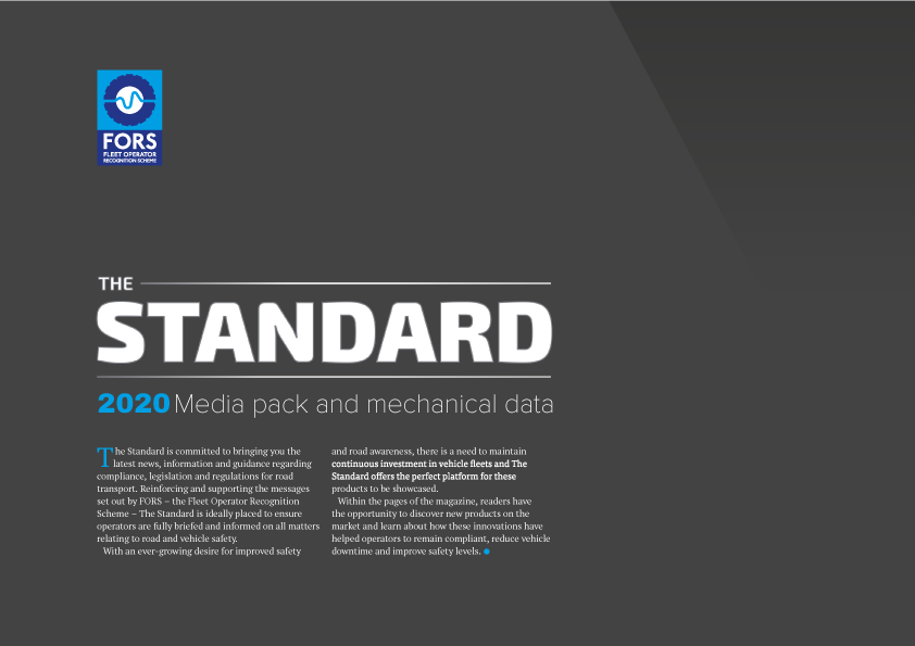 Fors Standard Magazine 2020 Media Pack