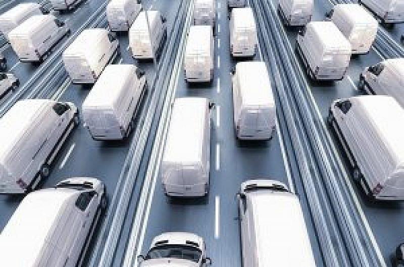 Vans On Motorway 300x200